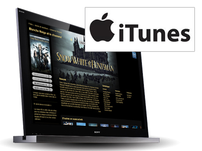 iTunes - Location de films et télé-séries via internet