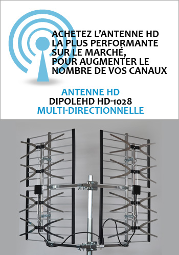 Pr amplificateur et r partiteur amplificateur de signal for Antenne fait maison