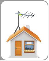 installer sur toit mur ou balcon un antenne t l hd. Black Bedroom Furniture Sets. Home Design Ideas